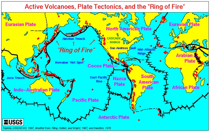 Active Faults on earthquake fault lines america, land use map of america, elevation map of america, blind map of america, english map of america,