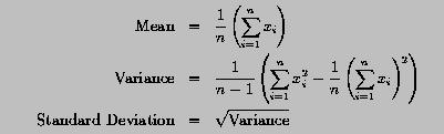 Computing mean variance and standard deviation ccuart Image collections